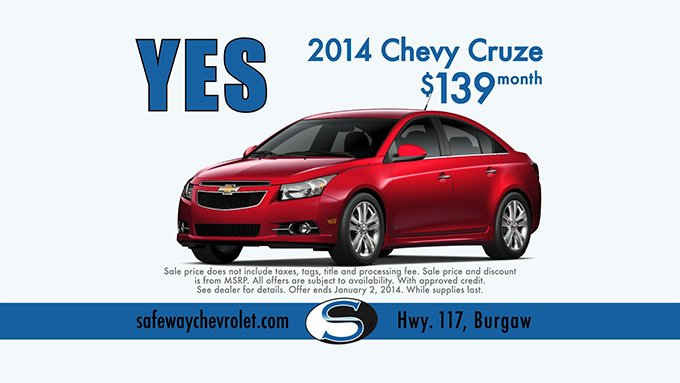 Safeway Chevrolet – Say Yes