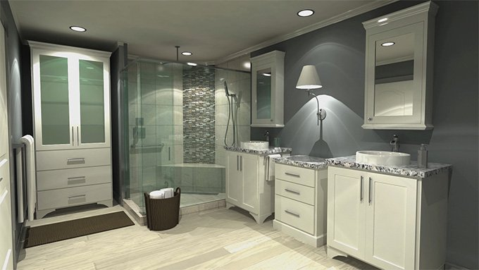 Bathrooms by Hatchett Design Remodel